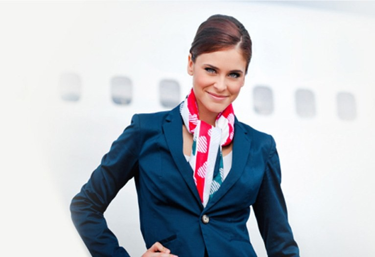 Air hostess, In-charge flight attendant, stewardess, hostess or gate attendant